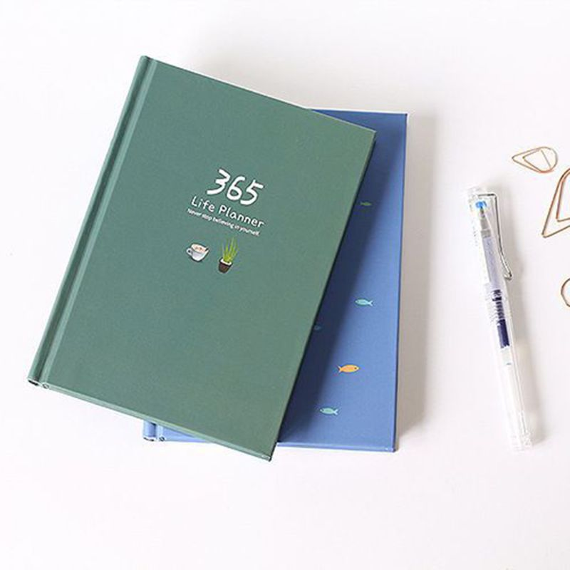 Hot Discount B461 365 Days Personal Diary Planner Hardcover