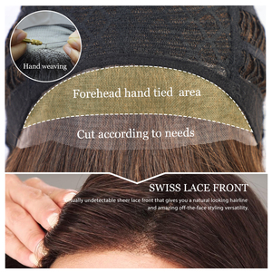 Image 5 - EMMOR Synthetic Laceด้านหน้าWigs 6 นิ้ว 50% Hair Blend Pixieตัดวิกผมสั้นธรรมชาติHairlineสำหรับผู้หญิง 4 สี