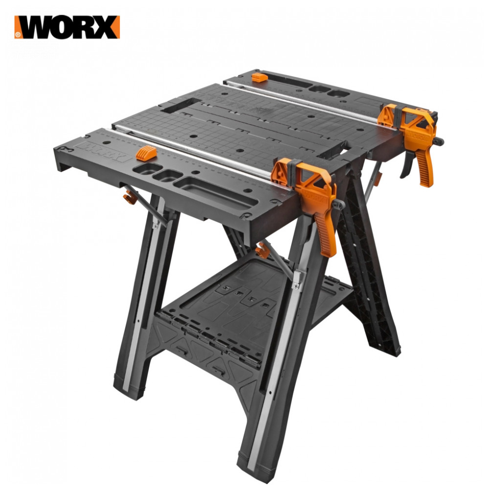 Woodworking Benches WORX WX051 folding workbench Desktop desk worktop carpentry for tool power tool table tables