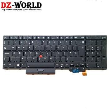 New Original GB UK English Backlit Keyboard for Lenovo Thinkpad T570 P51S T580 P52S Laptop Backlight Teclado 01ER611 01ER570