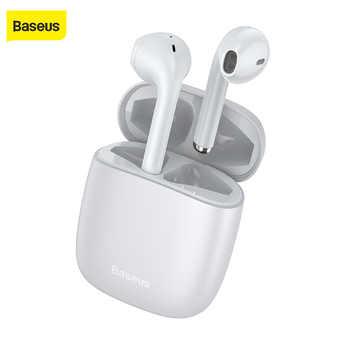 Baseus W04, Auriculares deportivos inalámbricos tws, Auriculares Bluetooth de 5,0 pulgadas, miniauriculares inalámbricos de manos libres para teléfonos