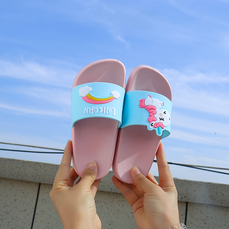 New Mini Melissa Unicorn Boys Girls Slippers 2019 Sandals Children Jelly Sandals Kids Sandal Girls Jelly Shoes Melissa Flip Flop