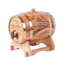 Mobiliário barril de vinho de madeira decoração barriles de madera originales barril de carvalho para uísque barril de vinho bg50wb