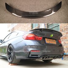 car styling F82 M4 RT Style Carbon Fiber rear wing car trunk lip auto boot wing spoiler for BMW F82 2014 2015