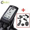 Meilan GPS велосипедный компьютер с нагрудным пульсометром  Датчик скорости/Каденции  беспроводная навигация Bluetooth 4 0  велосипедный одометр