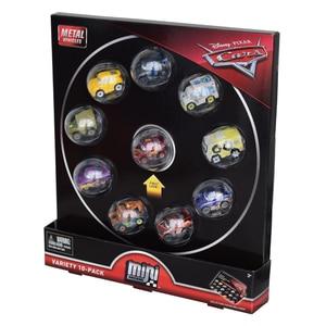Image 4 - 10 cái/bộ Nguyên Gốc Disney Pixar Cars 3 Mini Kim Loại Diecasts Đồ Chơi Xe Lightning McQueen Cơn Bão Đen Jackson Xe Đồ Chơi FLG72