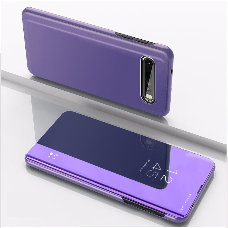 6.5'' For LG K61 Case LGK61 Flip Mirror Stand Phone Case For LG V60 Thinq 5G Cover 6.8'' Protective Luxury For LGV60 K 61 Coque