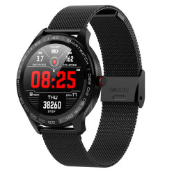 L9 Men Smart Watch ECG+PPG Heart Rate Blood Pressure Oxygen Tracker Bluetooth Watch IP68 Waterproof Business Smartwatch VS L5