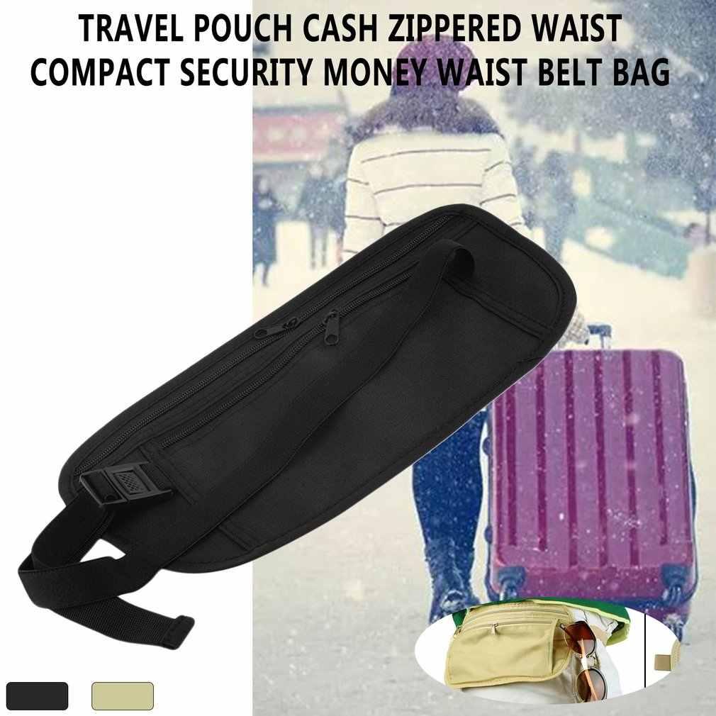 2019 à prova dwaterproof água fanny pacote saco da cintura homens correndo mulheres saco cinto zíper dinheiro bolsa saco de viagem saco do telefone móvel atacado