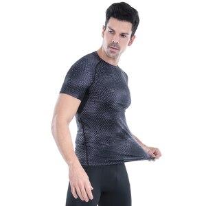 Image 4 - Acefancy nefes spor üstleri erkekler için T gömlek için elastik spor salonu absorbe ter T gömlek spor giysileri erkek 71601 spor erkekler