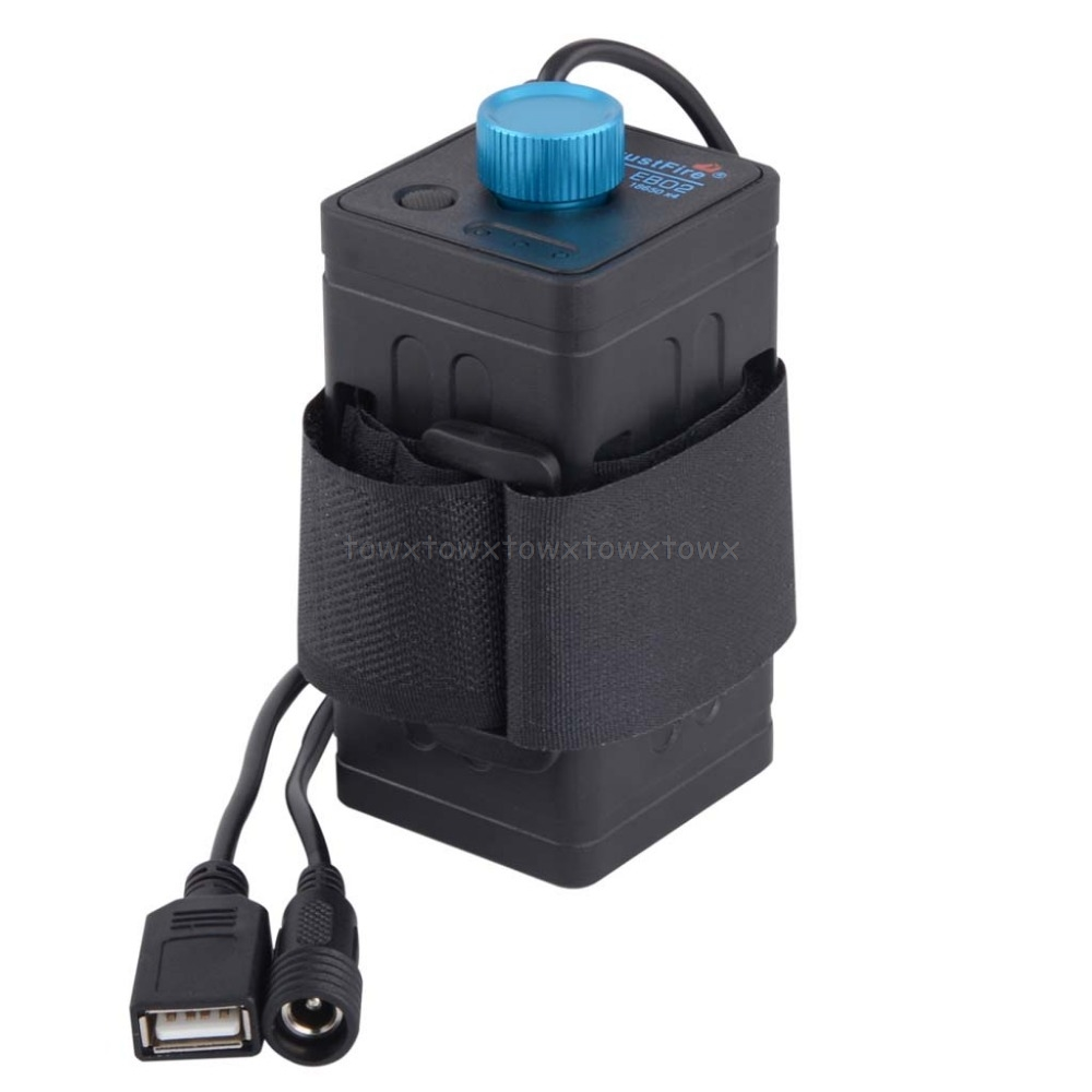 8.4V Waterproof USB 4x <font><b>18650</b></font> Battery Storage Case <font><b>Box</b></font> For <font><b>Bike</b></font> LED Smart Phone S11 19 Dropship image