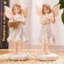 Little Angel Ornament Fairy Ornament Home Decoration Accessories Home Decor Fairy Garden Miniatures Figures Decoration Fairy