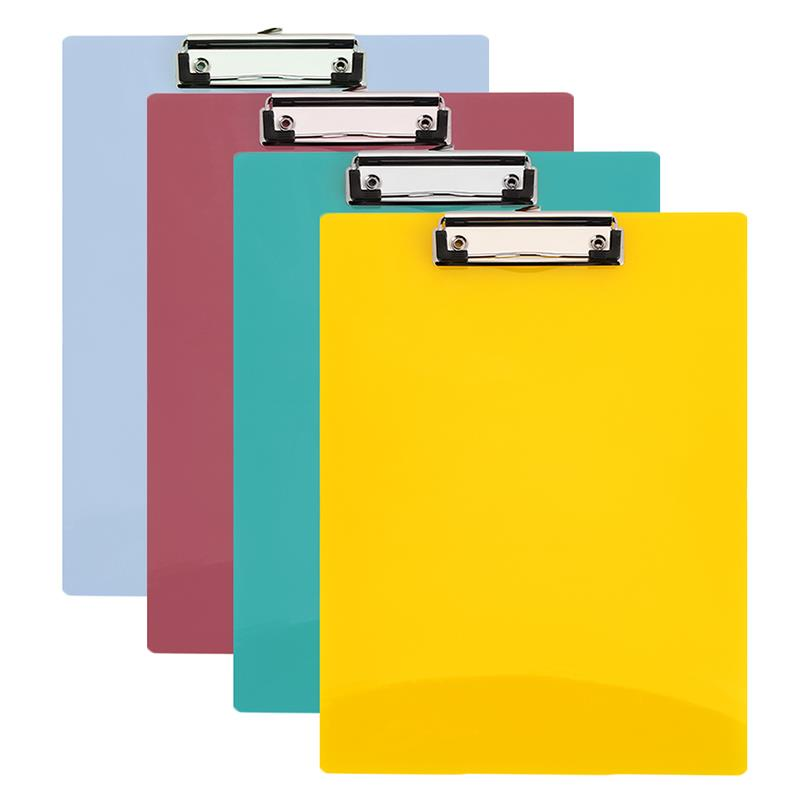 Office Clipboard Convenient Practical A4 4 Colors Random Boards Multifunctional File Folder PP Stationery Writing
