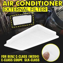 Filtro de cabine externo do condicionador de ar para mercedes para benz c-class w204 e-class coupe glk260 glk300 glk350 ft999(China)