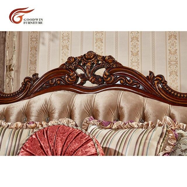 European Antique Living Room Sofa Furniture  5