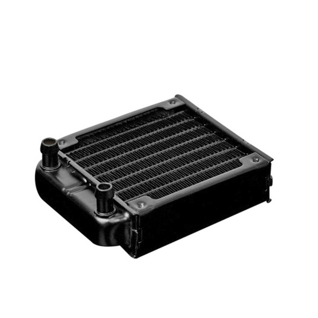 360mm Aluminum Computer Radiator Water Cooler Cooling Heatsink Exchanger Water Cool System For Computer - Black/White