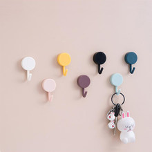 10pcs/set Towel Hook Bathroom Organizer Multicolor Punch-free Key Hook Hang All Kinds Of Clothes And Tools Kitchen Accessories