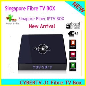 Image 1 - 2020 Singapore Starhub Fiber Cyber Tv Box Android 9.0 2.4/5Ghz Dual Wifi Voor Singapore Maleisië Thailand Japan korea Usa Canada