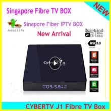 2020 singapur Starhub Fiber Cyber TV kutusu Android 9.0 2.4/5Ghz çift wifi singapur malezya için tayland japonya kore abd kanada