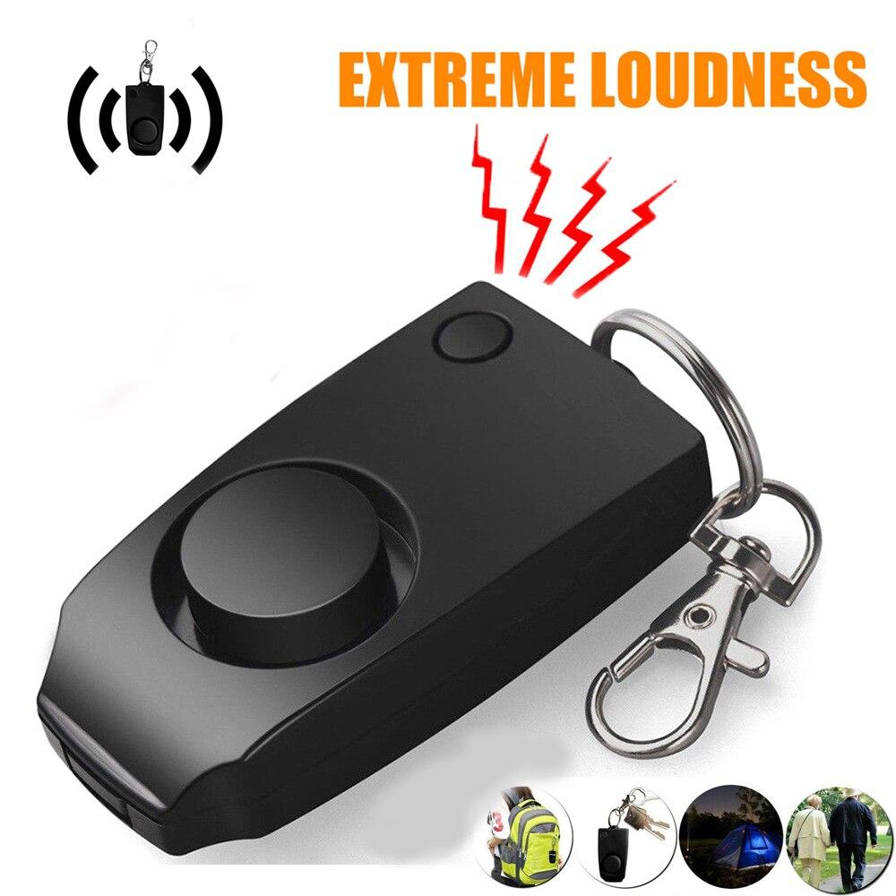 Self Defense Alarm Girl Child Women Security Protect Alert Wolf Personal Safety Scream Anti Rape Loud Keychain Emergency Alarm
