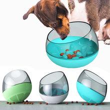 Интерактивная миска для собак и кошек игрушка забавный контейнер
