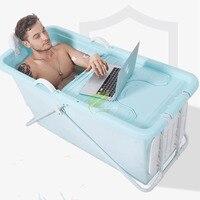 adult Tub Folding Insulation Bathtub Inflatable Plastic Bath Food Grade Non toxic Soft Material Portable Soaking