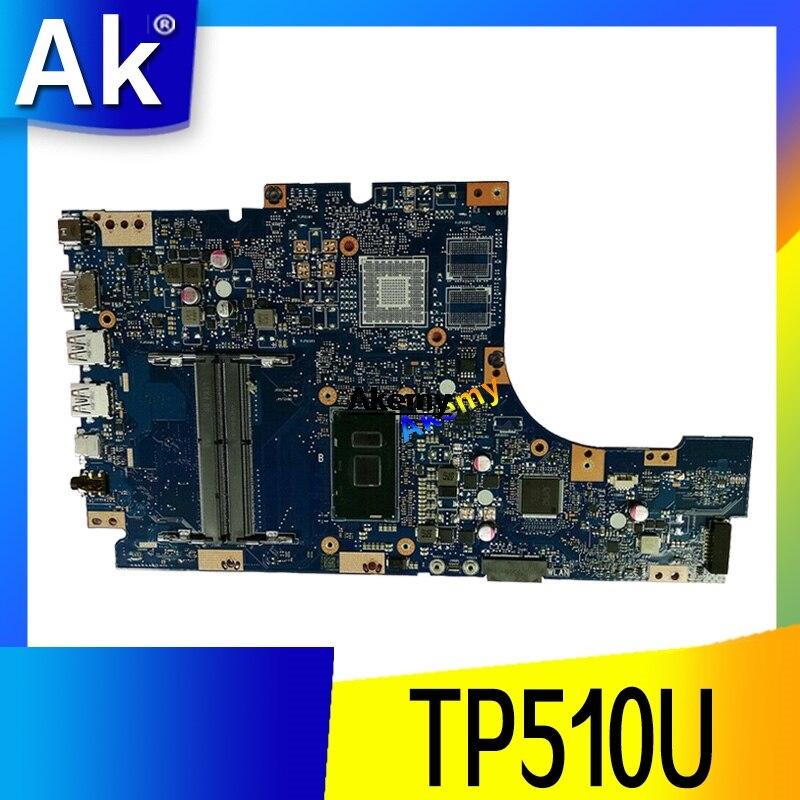 Exchange Laptop Motherboard For ASUS VivoBook Flip TP510U TP510UA TP510UQ Mainboard