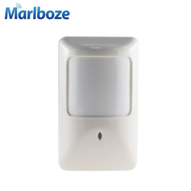 Marlboze 5 cái/lốc P812 Có Dây Hồng Ngoại Phát Hiện Chuyển Động cho Nhà Báo Động Có Dây cảm biến PIR làm việc với Tất Cả Báo Động bảng điều khiển