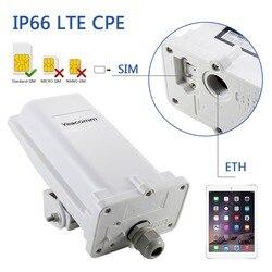 YF-P11 مقاوم للماء الصناعي في الهواء الطلق CPE 4G LTE cat4 150M CPE TDD FDD راوتر دون واي فاي