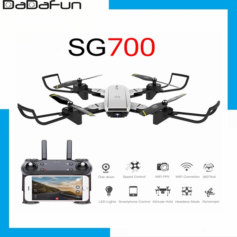 2020 New SG700D RC drone quadrocopter drone with 4K Hd motion camera self-motion Follow profissional drone VS X8 SG901 S20 Drone