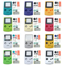 New Plastic Game Shell Housing Case Cover For Nintendo Gameboy Color Game Console For GBC Shell With Buttons Kits Sticker