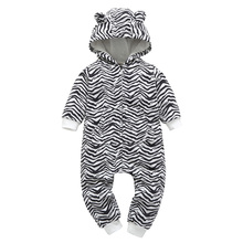 New Autumn Newborn Baby Clothes 0-24M Toddler Casual Jumpsuit Printing Long Sleeve Rompers Kids Bodysuits #22