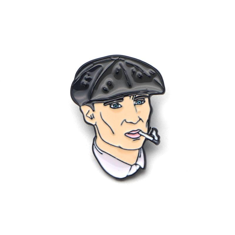 CA464 высокое качество остроконечные шоры ТВ Мультфильм Металл Эмаль Краска значок булавки и броши ювелирные изделия крутые подарки для фанатов 1 шт - Цвет: 2