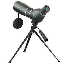 Nieuwe SV28 50/60/70Mm Telescoop Zoom Spotting Scope Waterdichte Monoculaire W/Universele Telefoon Adapter Mount voor Jacht F9308 # K