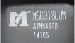 Free Delivery. MSD318LUM LCD IC chip accessories