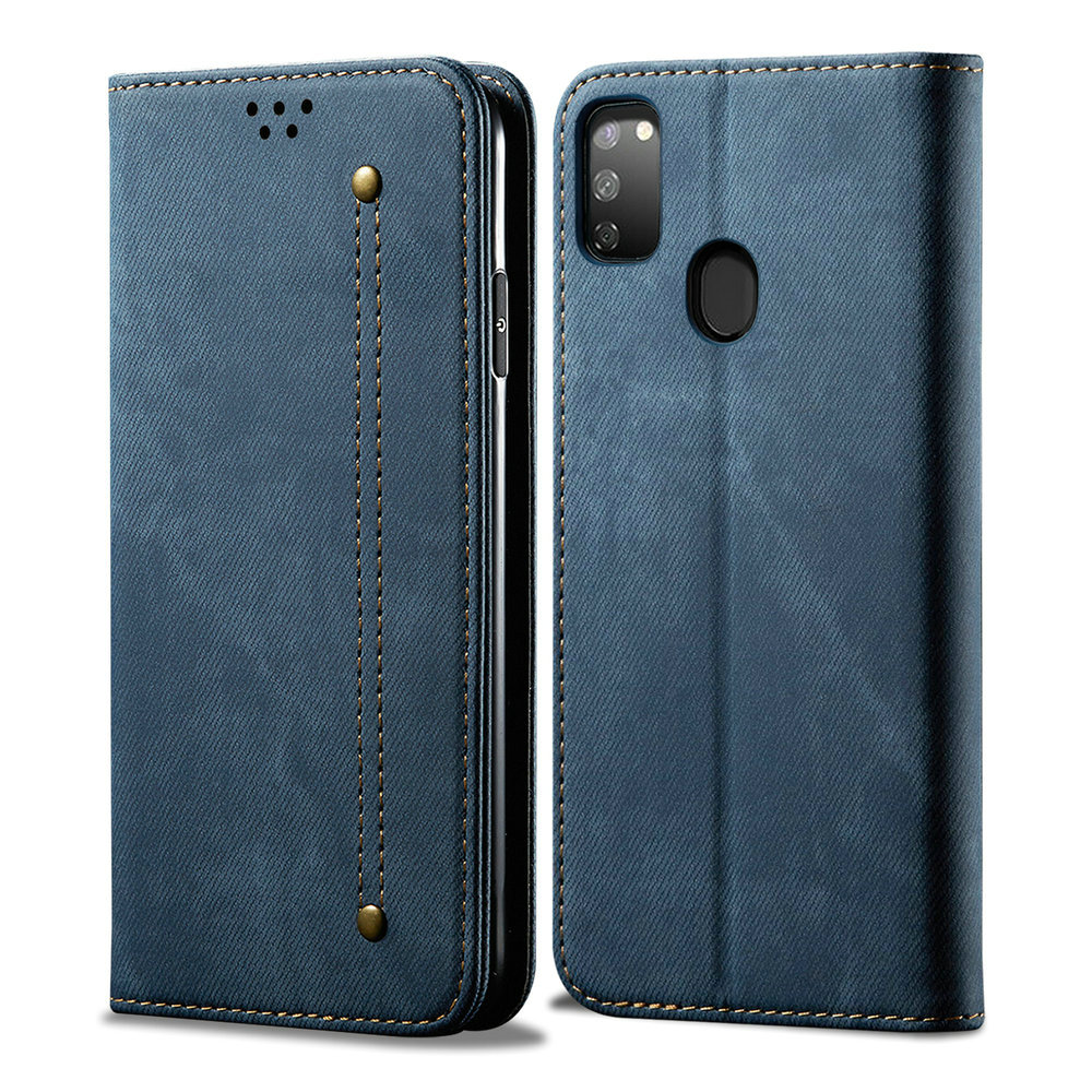 Luxury Cloth Solid Leather for Coque <font><b>Samsung</b></font> M30s Case <font><b>Samsung</b></font> Galaxy M30s M30 S <font><b>2019</b></font> Wallet <font><b>Cover</b></font> for <font><b>Samsung</b></font> M 30s Flip <font><b>Cover</b></font> image