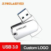 Teclast Metall USB3.0-Stick 64gb USB 3.0 Pen Drive Memory Stick Speicher U Disk Unterstützung DIY Individuelles LOGO Mit DJ MV Cle USB