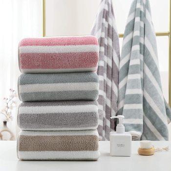 35x75cm zestawy ręczników Super chłonny i szybkoschnący Super miękki ręcznik kąpielowy bez rzucania włosów odporne na blaknięcie zestawy ręczników tanie i dobre opinie CN (pochodzenie) RĘCZNIK DO TWARZY Bez wzorków Rectangle można prać w pralce Poliester Bawełna W jednym kolorze Coral fleece
