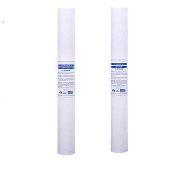 2 sztuk 20 cal PPF osadów wkład do filtra wody filtr do wody z przodu wkład filtra akwarium do odwróconej osmozy tanie i dobre opinie CN (pochodzenie)