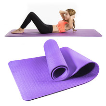 Pilates yoga esteiras conjunto antiderrapante esteiras de ginástica para mulheres esteira de exercício em massa casa ginásio de viagem de fitness esportes almofada com saco