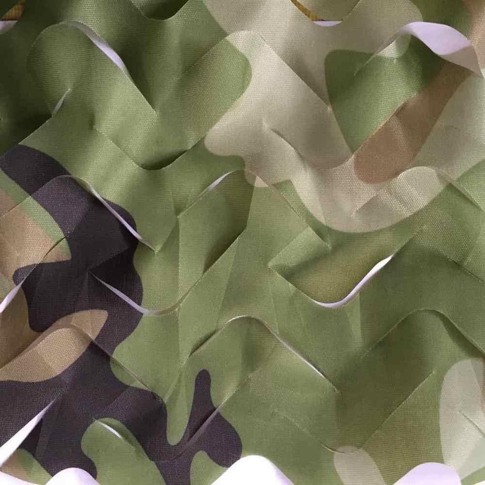 6 M/5 M/4 M/3 M Săn Bắn Quân Sự Ngụy Trang Lưới Rừng Gỗ Huấn Luyện Quân Đội Cam Phối Lưới xe Ô Tô Có Lều Bóng Cắm Trại Nắng S