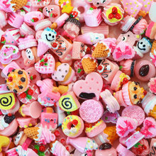 10pcs Miniature Mini Food Fruits and Vegetables Kitchen Toys Cake Candy Chocolate Toy for Doll Children Kid Kitchen Girls Toys E