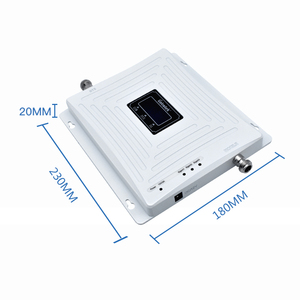 Image 2 - Lintratek Triband Signal Booster 900 1800 2100Mhz GSM Repeater 3G 4G LTE Amplifier Mobiel Phone Repeater 2G 3G 4G 65dB GDW #3.9