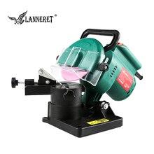 LANNERET точилка для цепной пилы 220 Вт 100 мм 4 дюйма, электрошлифовальная машина, садовые инструменты, портативная электрическая точилка для цепной пилы