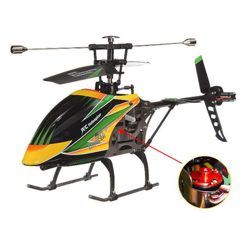 Original WLtoys V912 4CH RC Mini Drone 2.4G 6CH 3D 6G Brushless RC Helicopter with Gyro BNF Remote Control Toys For Kids Gifts 2