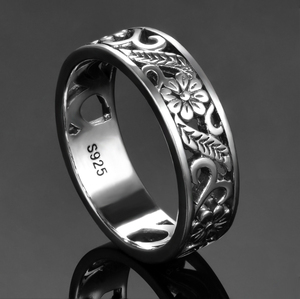 Finger Rings Charms Silver 925 Original Design Women's Sterling Silver None Stones Classic Round Ring Fine Jewelry Gift Hotsale