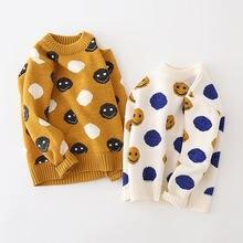 Осень зима 140 вязаный свитер для мальчиков на рост 90 2020