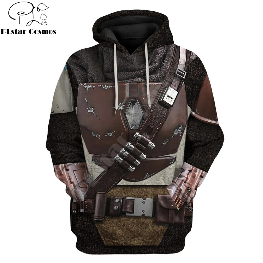 The Mandalorian Armor 3D All Over Printed Hoodie For Men/Women Harajuku Fashion Hooded Sweatshirt Cosplay Casual Jacket Pullover