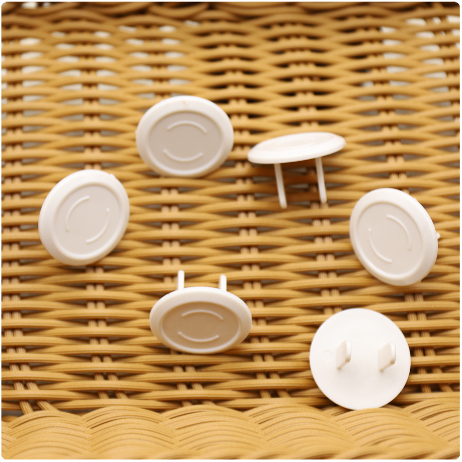 5pcs US Children Safety Protection Baby Safety Power Socket Outlet Plug Protective ABS Cover Anti Electric Baby Safety Protector