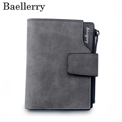 Женский кошелек, винтажный, модный, высокое качество, маленький кошелек, кожаный кошелек, женская сумка для денег, маленькая молния, карман д...